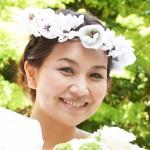 ヘッドドレス 花冠  オフホワイト